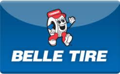 Belle tire gift card