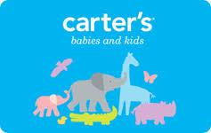 Carter's gift card