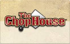 Chop House gift card