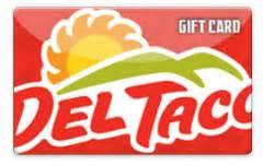 Del Taco | Gift Card Balance Checker