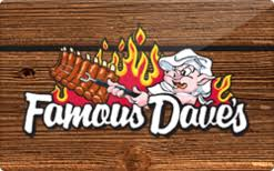 Famous Daves Gift Card