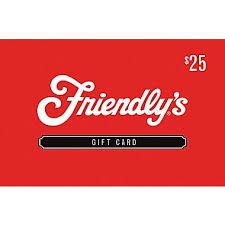 Friendly's Gift card
