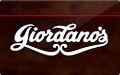 Giordano's Gift card