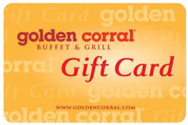 Golden Corral gift card