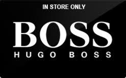 Hugo Boss gift card