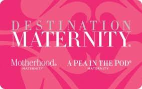Motherhood Maternity gift card