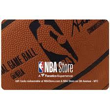 NBA Store gift card