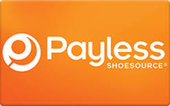 Payless gift card