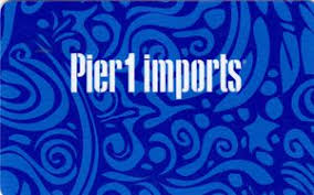 Pier 1 Gift Card