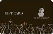 Ritz carlton Gift card