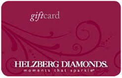 Helzberg Diamonds gift card