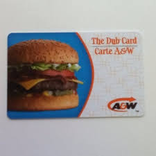 A&W Gift Card balance checker