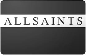 All Saints Gift Card balance checker