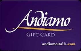 Andiamo Gift card