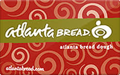 Atlanta Bread gift card