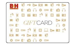 B&H Photo gift card balance