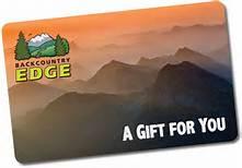 Backcountry.com gift card