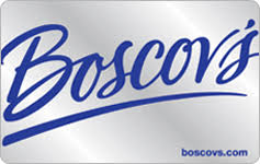 Check your Boscov's gift card balance