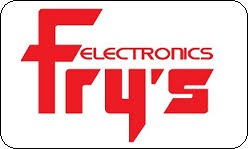 Fry's Electronics gift card
