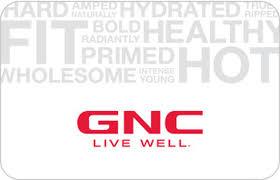 GNC Gift card balance