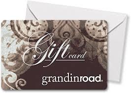 Grandin road gift card