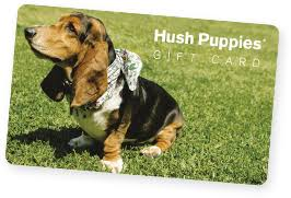 Hush Puppies gift card