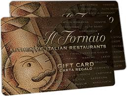 Il Fornaio gift card balance checker
