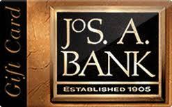 Joseph A Bank Gift Card