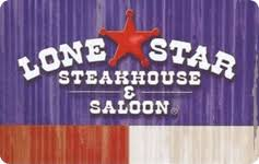 Lonestar steakhouse gift card balance