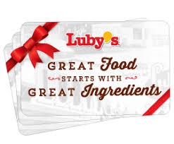 Luby's gift card balance checker