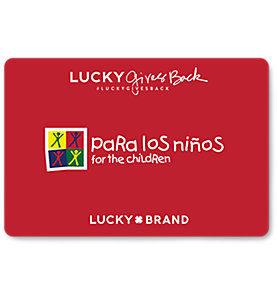 Lucky Brand Gift Card Balance