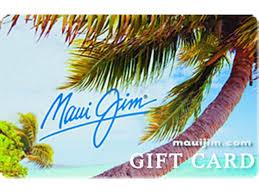 Maui Jim gift card balance