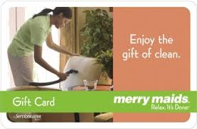 Merry Maids gift card