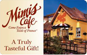 Mimis cafe gift card balance