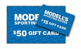 Modells gift card