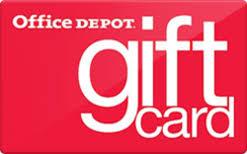 Office Depot gift card