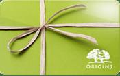Origins gift card