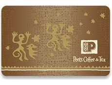 Peet's Coffee & Tea gift card