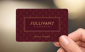 Sullivan's steakhouse gift card balance checker