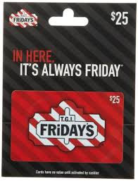 TGI Friday's gift card balance checker