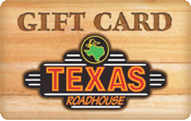 Texas Roadhouse gift card balance
