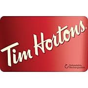 Tim Horton's gift card balance checker