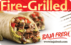 Baja Fresh gift card balance checker