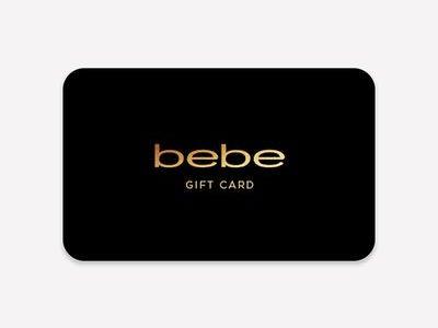 bebe gift card balance checker