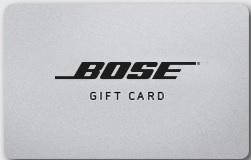 Check Bose gift card balance