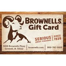 brownells gift card balance checker