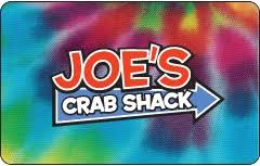 joe's crab shack gift card
