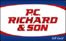 p.C. Richard gift card balance checker